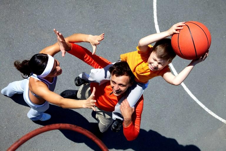 Преимущества занятий спортом всей семьёй