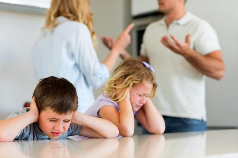 Развод при наличии ребёнка (2)