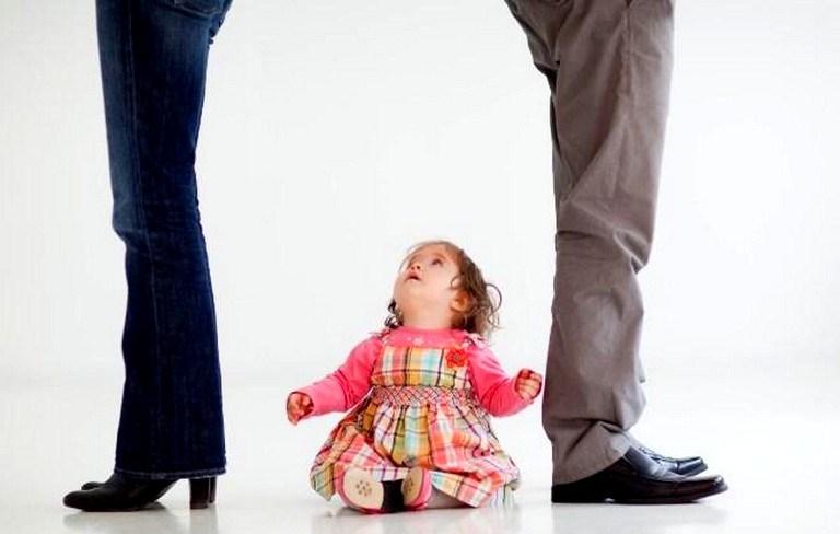 Развод с ребёнком до 3-х лет