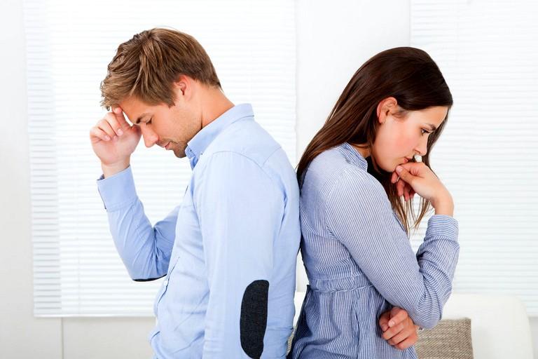 Семейные проблемы в первый год брака