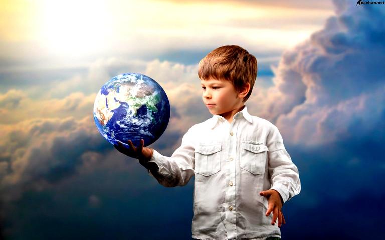 Участие общечеловеческих ценностей в воспитании подрастающего человека