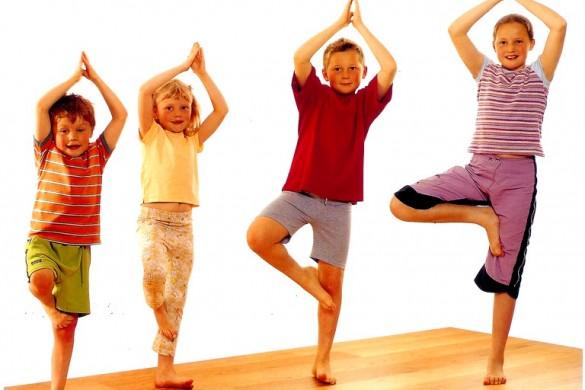 Упражнения детской йоги (3)