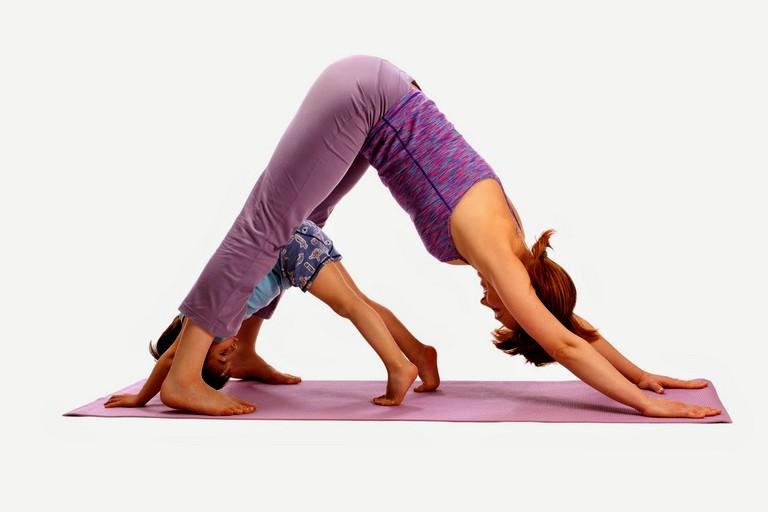 Упражнения детской йоги (4)