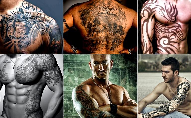 Выбор рисунка для татуировки