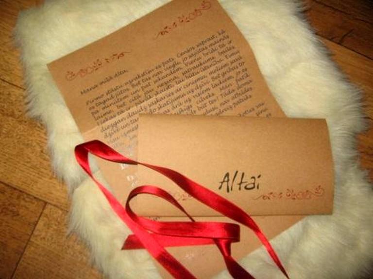 написание любовного письма