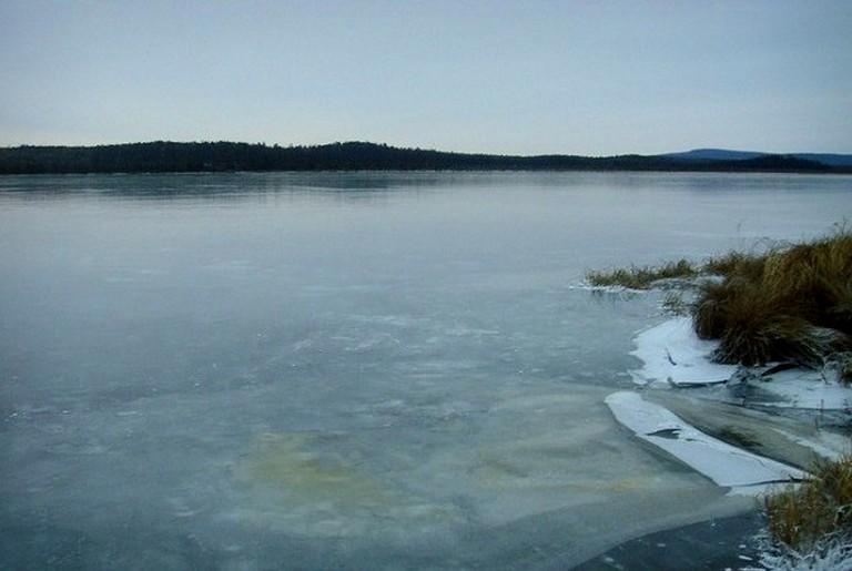 поведение на водоемах в зимний сезон