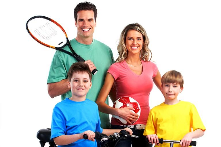 спортивная семья (2)