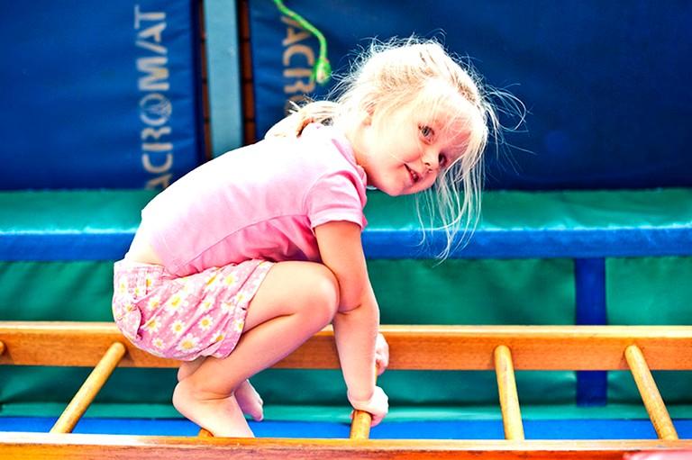 Гимнастика для маленьких детей