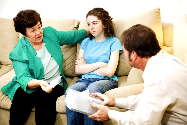 Конфликты в отношениях между родителями и детьми (2)